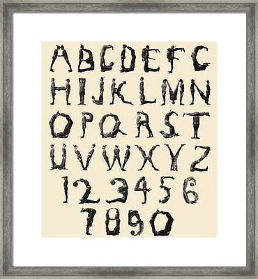 The Three Delevines Satanic Gambols Human Alphabet. The Three Delevines Were An 1897 Music Hall Framed Print by English School