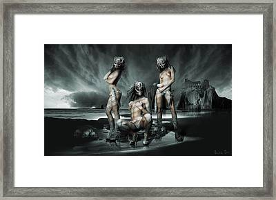The Three Graces Framed Print by George Grie