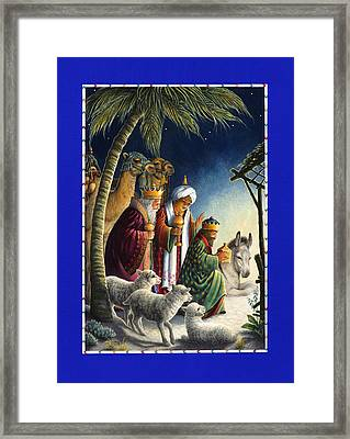 The Three Kings Framed Print by Lynn Bywaters