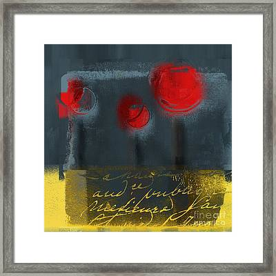 The Three Trees Framed Print by Variance Collections