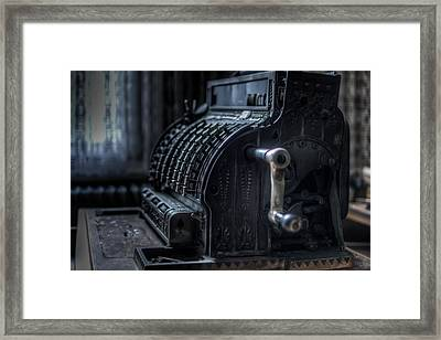 The Till Framed Print by Nathan Wright