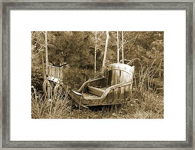 The Time Machine Framed Print by Donna Kennedy