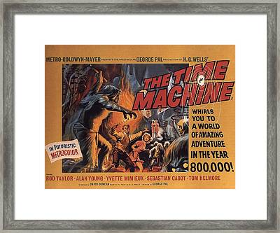 The Time Machine  Framed Print by Movie Poster Prints