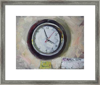 The Times Framed Print by Ylli Haruni