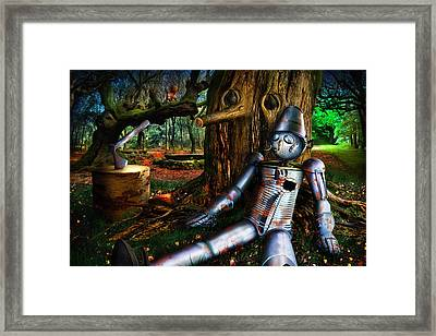 The Tin Woodman Framed Print by Alessandro Della Pietra