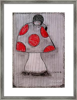 The Tomboy Princess Framed Print by Denisse Del Mar Guevara