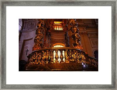 The Tombs At Les Invalides - Paris France - 011322 Framed Print by DC Photographer