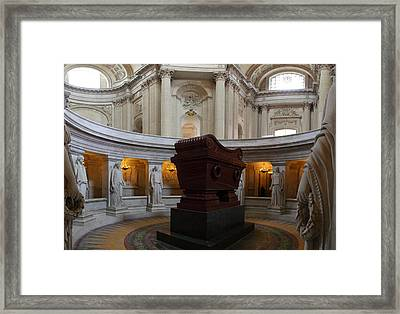 The Tombs At Les Invalides - Paris France - 011328 Framed Print by DC Photographer