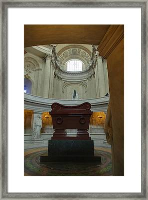 The Tombs At Les Invalides - Paris France - 011330 Framed Print by DC Photographer