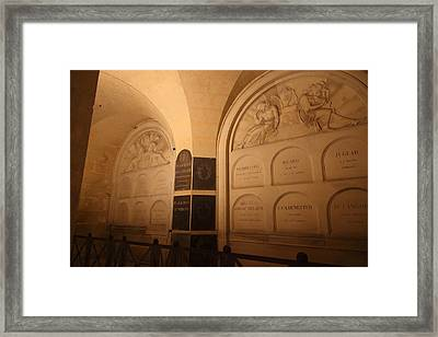 The Tombs At Les Invalides - Paris France - 011335 Framed Print by DC Photographer