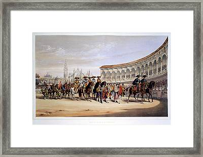 The Toreros Framed Print by British Library