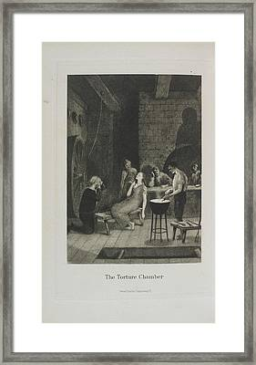 The Torture Chamber Framed Print by British Library