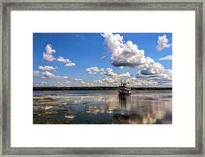 The Tour Framed Print by Mark Papke