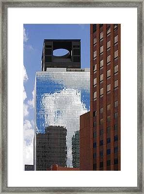 The Tower Of Power Houston Tx Framed Print by Christine Till