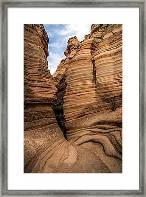 The Trail Framed Print by Tommy Farnsworth
