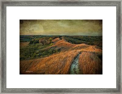 The Trailhead Framed Print by Jeff Swanson