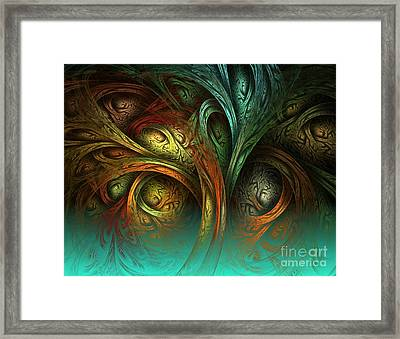 The Tree Of Life Framed Print by Sandra Bauser Digital Art