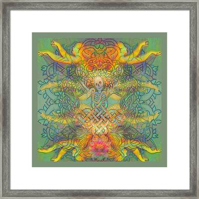 The Tree Of The Knowledge Of Good And Evil Framed Print by Hidden  Mountain