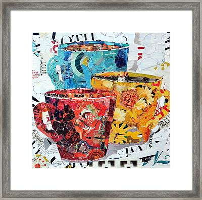 The Trio Framed Print by Suzy Pal Powell