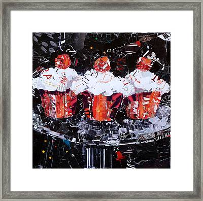 The Triplets Framed Print by Suzy Pal Powell