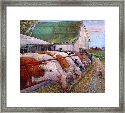 The Trought Framed Print by Paul Emory