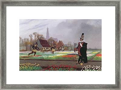 The Tulip Folly Framed Print by Jean Leon Gerome