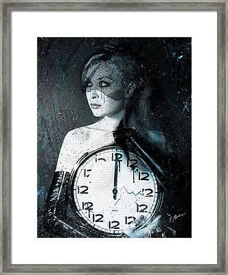 The Twelfth Hour Framed Print by Gary Bodnar