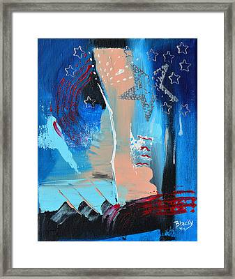 The Twilight's Last Gleaming Framed Print by Donna Blackhall