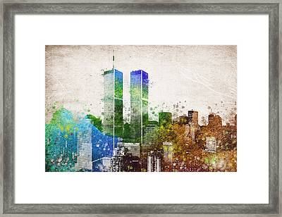 The Twins Framed Print by Aged Pixel
