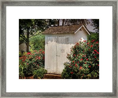 The Two Seater Framed Print by Lori Deiter