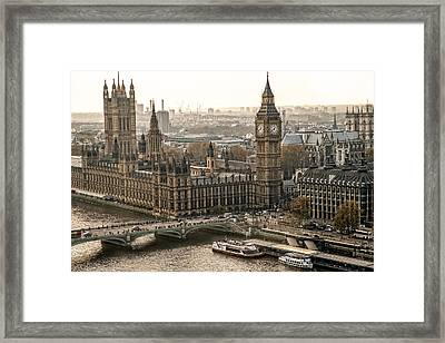 The Two Towers Framed Print by Glenn DiPaola