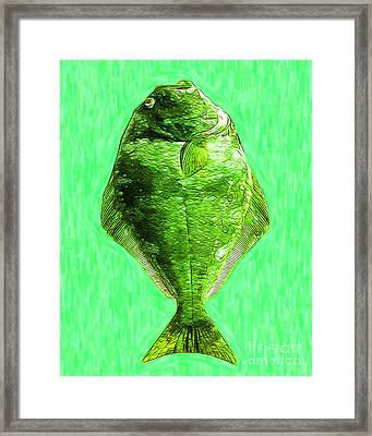 The Ugly Fish 20130723dip68 Framed Print by Wingsdomain Art and Photography