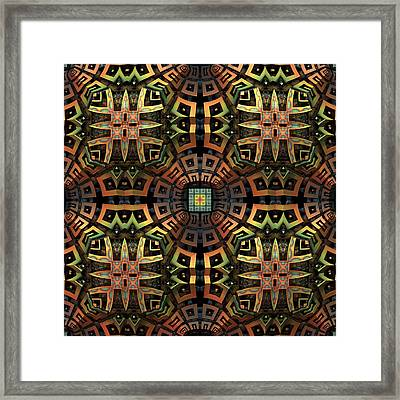 The Undiscovered Tribe Framed Print by Lyle Hatch