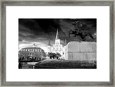 The Union Must And Shall Be Preserved Framed Print by John Rizzuto