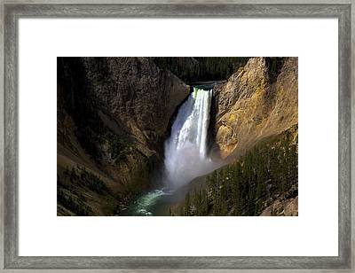 The Upper Falls Framed Print by Terry Horstman