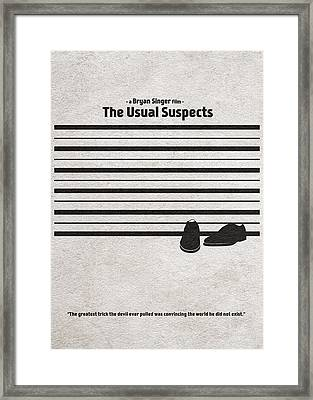 The Usual Suspects Framed Print by Ayse Deniz