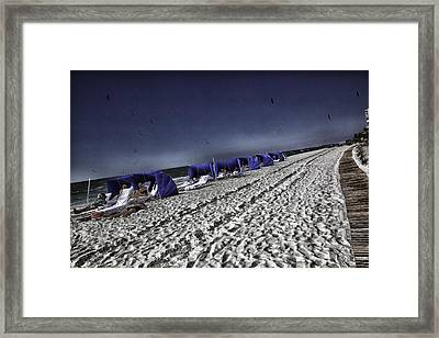 The Vacationers 1 Framed Print by Madeline Ellis