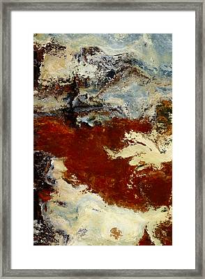 The Valley Framed Print by Jack Zulli