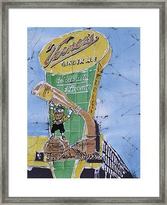The  Vernor's Plant Framed Print by Kate Ford