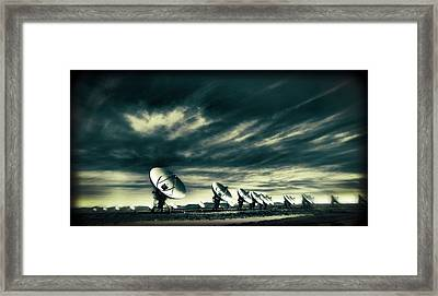 The Very Large Array Observatory Framed Print by Dan Sproul