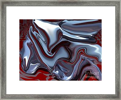 The Victory Framed Print by Christian Simonian