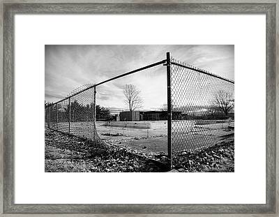 The View Framed Print by Luke Moore