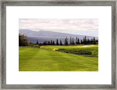 The View Framed Print by Scott Pellegrin