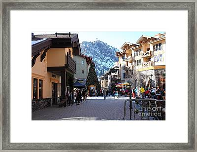 The Village At Squaw Valley Usa 5d27666 Framed Print by Wingsdomain Art and Photography