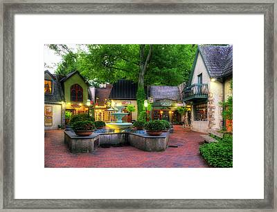The Village Of Gatlinburg Framed Print by Greg and Chrystal Mimbs