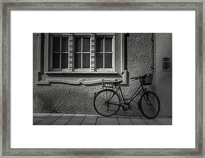 The Visit Framed Print by Chris Fletcher