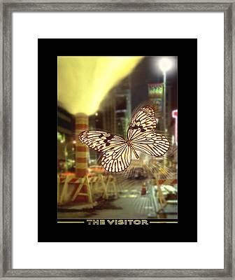 The Visitor Framed Print by Mike McGlothlen