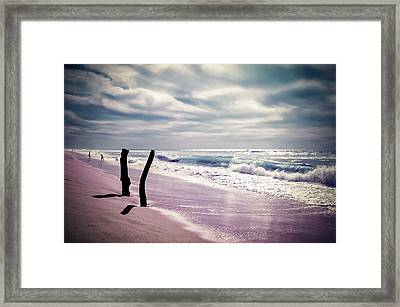 Framed Print featuring the photograph The Voice Of The Sea by Thierry Bouriat