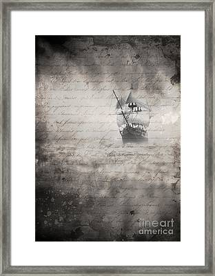 The Voyage Framed Print by Edward Fielding