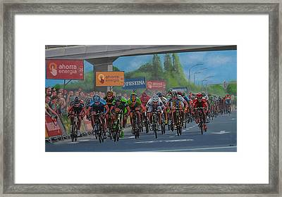 The Vuelta Framed Print by Paul Meijering